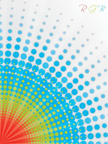 Abstract rgb background