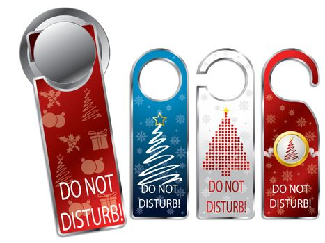 Christmas design privacy labels