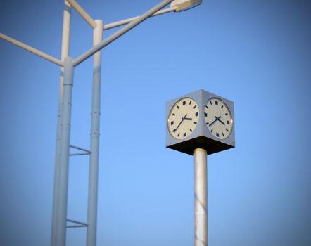 Square Public Clock