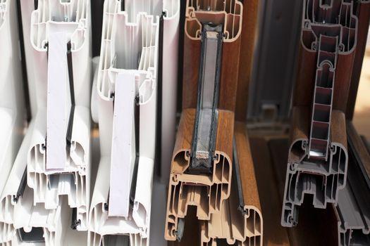 Plastic window profiles