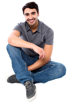 Stylish young man, cool portrait