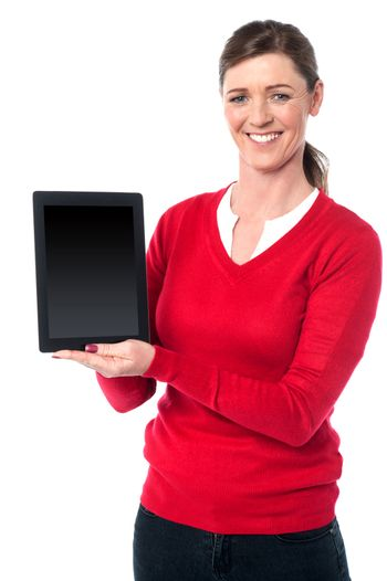 The latest touch pad device is out for sale