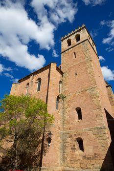 Mora de Rubielos in Teruel Aragon stonewall village