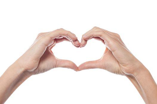 Conceptual heart shape