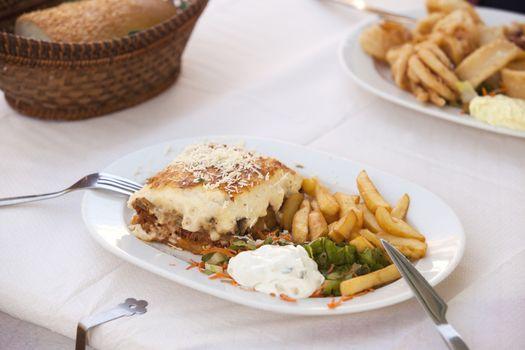 Traditional greek food