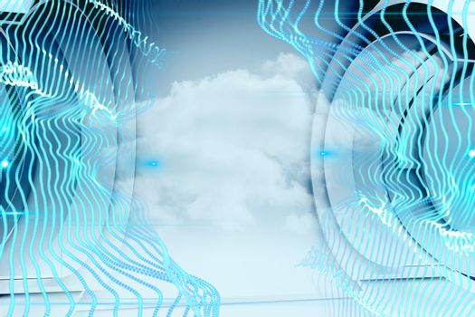 Energy in a futuristic structure