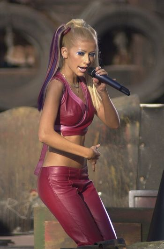 Christina Aguilera at Universal Studios