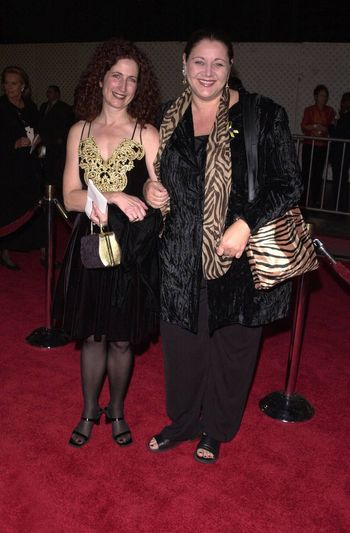 """Camryn Manheim at a special presentation of Disney's """"The Lion King"""" benfitting the Karabo Foundation, Pantages Theater, 10-18-00"""