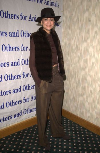 Anne Marie Johnson at the Actors and Others for Animals benefit, Universal City, 10-21-00