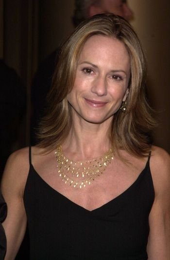 """Holly Hunter at the premiere of New Line Cinema's """"Lost Souls"""" in Hollywood, 10-11-00"""