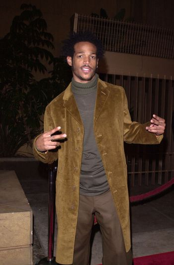 """Marlon Wayan at the premiere of Artisan Entertainment's """"Requiem For A Dream"""" in Hollywood, 10-16-00"""