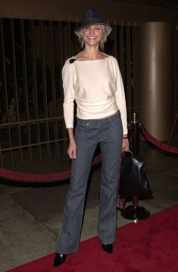 """Cameron Diaz at the premiere of Artisan Entertainment's """"Requiem For A Dream"""" in Hollywood, 10-16-00"""