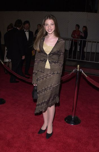 """Michelle Trachtenberg at a special presentation of Disney's """"The Lion King"""" benfitting the Karabo Foundation, Pantages Theater, 10-18-00"""