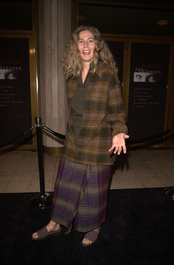 """Sophie B. Hawkins at the premiere of Dreamworks """"The Contender"""" in Westwood, 10-05-00"""