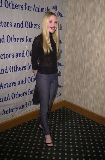 Adrienne Frantz at the Actors and Others for Animals benefit, Universal City, 10-21-00