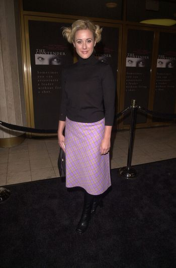 """Leah Lail at the premiere of Dreamworks """"The Contender"""" in Westwood, 10-05-00"""