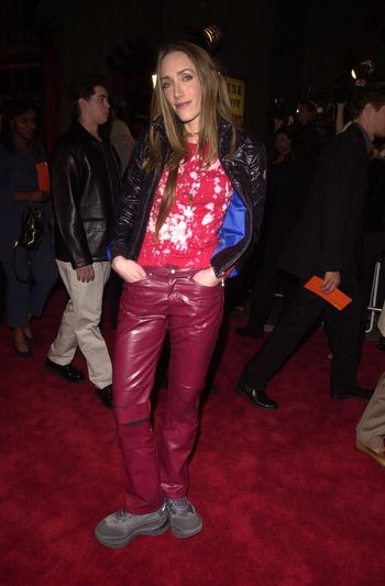 """Poe at the premiere of Artisan Entertainment's """"BLAIR WITCH 2: Book Of Shadows"""" at the Chinese Theater, Hollywood, 10-23-00"""