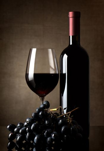 Delicious red wine