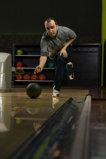 Bowler Attempts To Take Out Remaining Pins