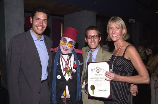 Count Smokula and friends from the Mayor's office at the Moviemaking Technology Showcase, featuring cutting edge movie technology, as well as two fashion shows, The Century Club, Century City, CA, 09-03-02
