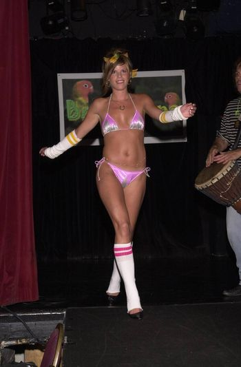 Designer Ana B at the Moviemaking Technology Showcase, featuring cutting edge movie technology, as well as two fashion shows, The Century Club, Century City, CA, 09-03-02