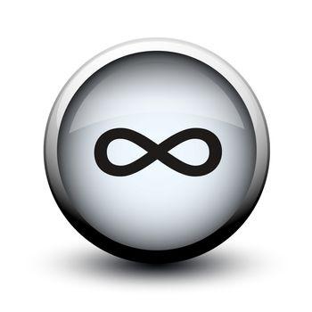 button infinity 2d