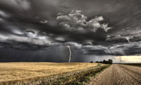 Major Storm Saskatchewan