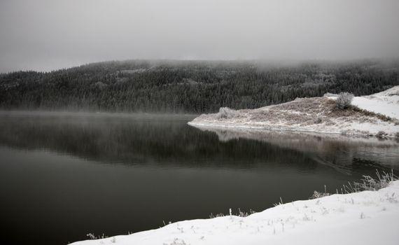 Cypress Hills in Winter