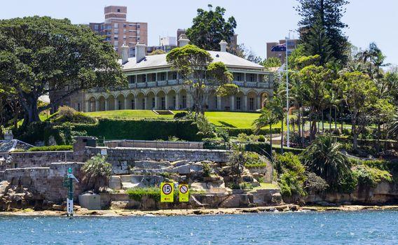 Admiralty House Kirribilli Point Sydney