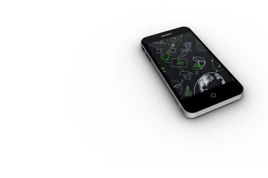 Brainstorm on smartphone screen