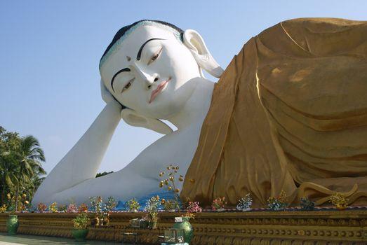 Buddha Statue, Bago, Myanmar