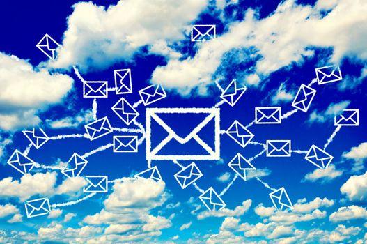 Mail clouds