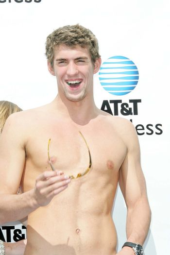In-store appearance by Michael Phelps
