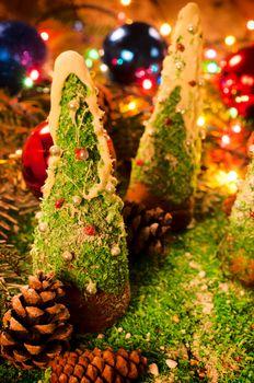 Christmas tre cookie
