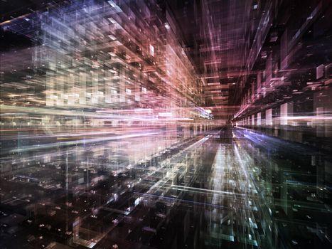 Virtual Life of City
