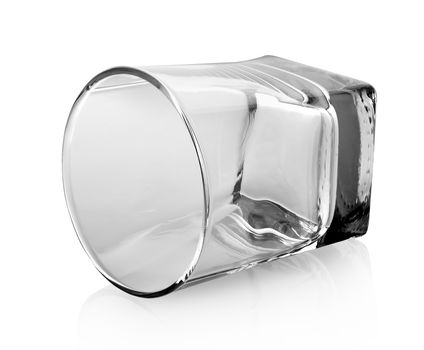 Isolated glass for whiskey