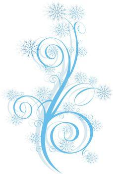 Winter swirl