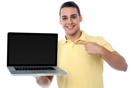 This is my brand new laptop
