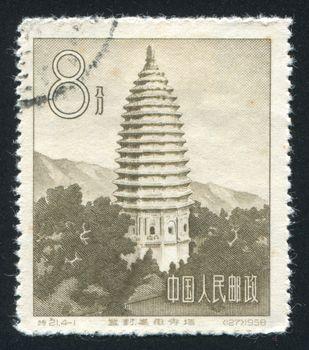 Sungyu pagoda in Honan