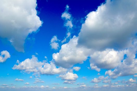 Panorama of clouds
