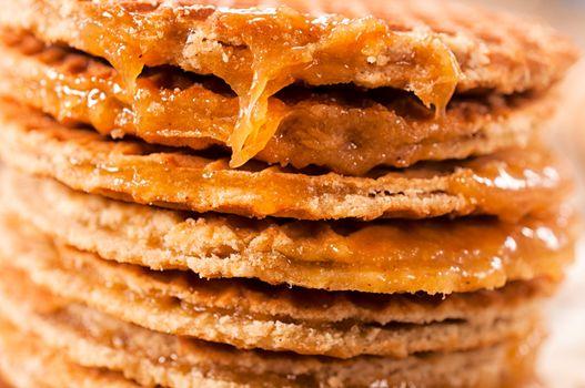 Honey pancakes