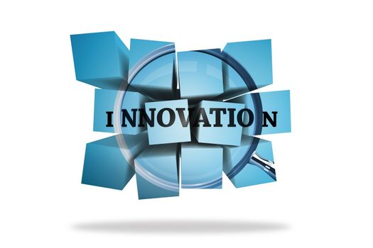 Innovation on abstract screen