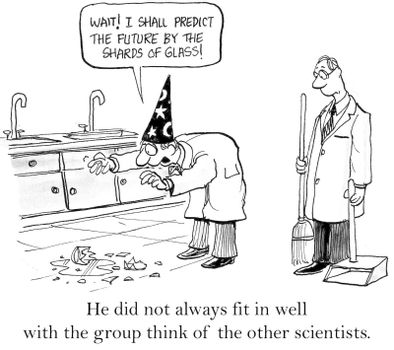Scientific versus Spiritual