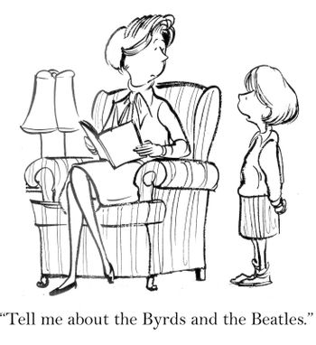 """Tell me about the Byrds and the Beatles."""