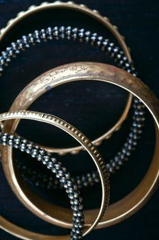 antique bronze bracelets