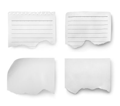 Collage of paper sheets