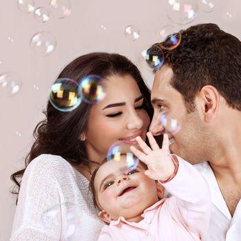 Arabic family portrait