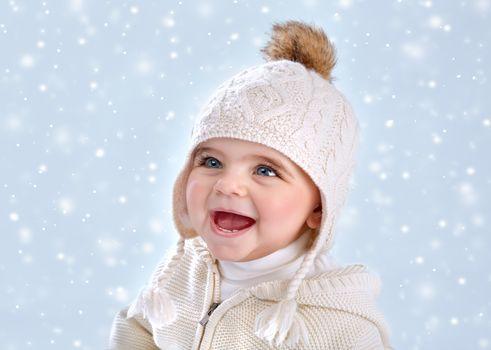 Wintertime baby fashion
