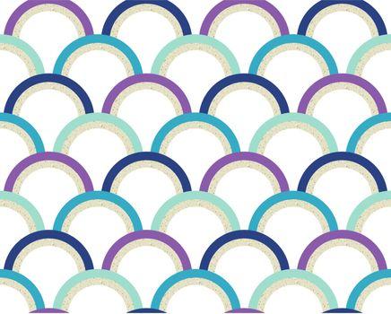 seamless scallop textured background
