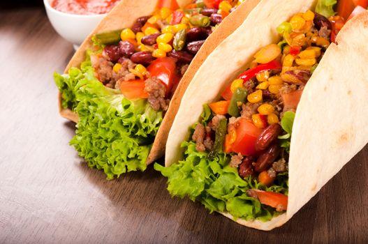 Taco pair